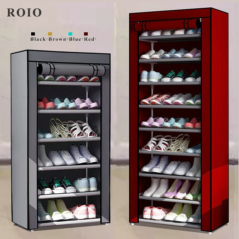 Multi-layer Simple Shoe Rack Entryway Space-saving Shoe Organizer Easy to Install Shoes Shelf Home Dorm Furniture Shoe Cabinet