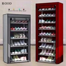 Zapatero sencillo multicapa, organizador de zapatos para ahorro de espacio, fácil de instalar, mueble de dormitorio para el hogar, armario para zapatos