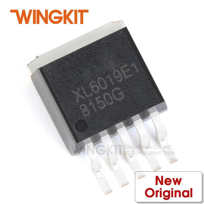 5 pces xl6005e1 to252 xl6005 TO-252-5L 180khz 60v 4a interruptor atual impulso led constante atual driver