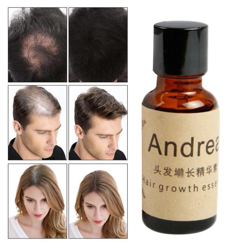 Aceite Esencial de queratina Herbal para el crecimiento rápido del cabello, aceite...