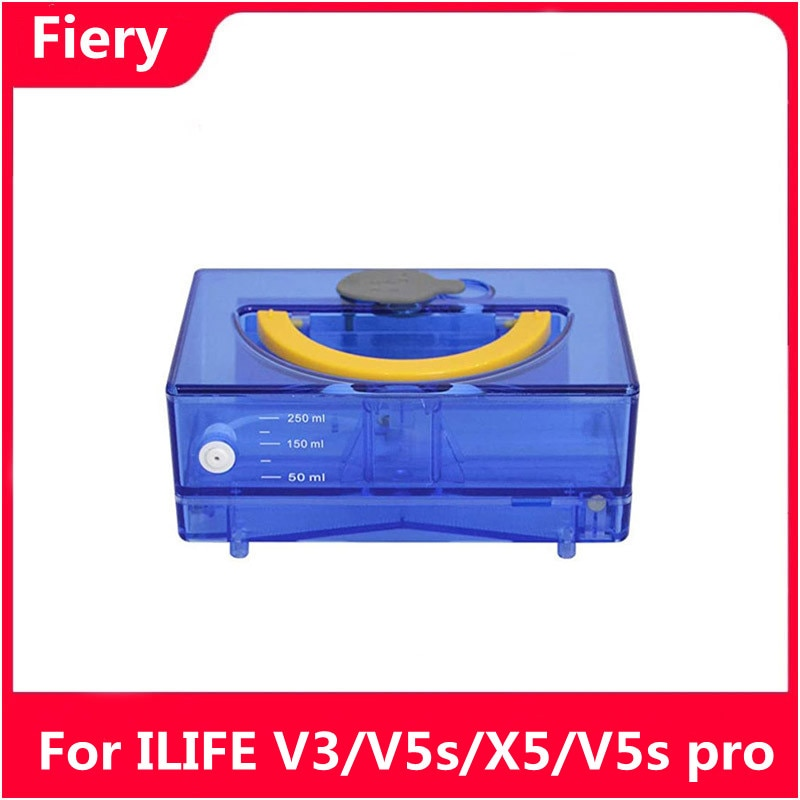 V5s Pro Robot Vacuum Cleaner Water Tank Mop is Suitable for ilife v3 x5 v5s  Robot Vacuum Cleaner Parts Accessories High
