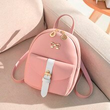 Fashion Lady Shoulders Small Backpack Letter Purse Mobile Phone Famous Brand Designer Zaino da donna #R15