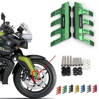 with logo for bmw k1200r k 1200r motorcycle cnc accessories mudguard side protection block front fender anti fall slider