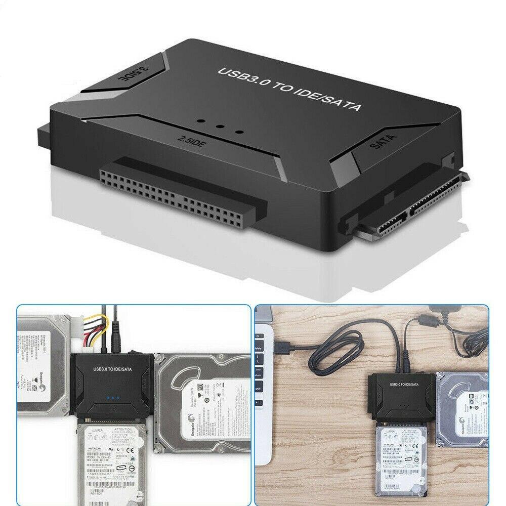1 قطعة محول نقل USB 3.0 إلى IDE SATA HDD الخارجية عدة موصل 2.5