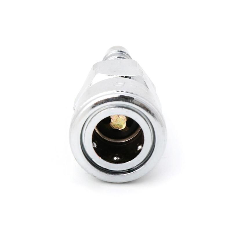 2 Pcs 8mm Pneumatic Air Line Hose Quick Release Coupler Connectors Compressor 40JE