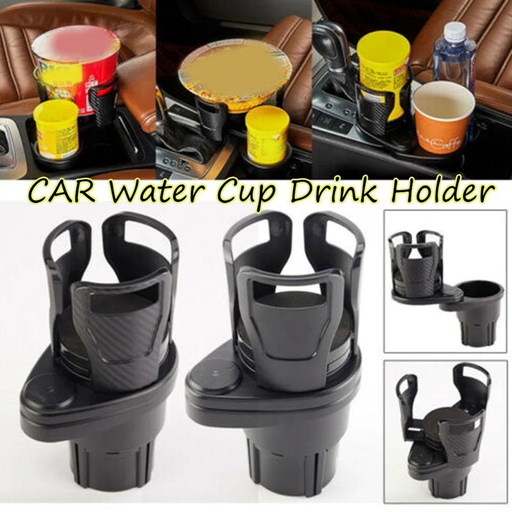 Adjustable Car Drinking Bottle Holder 360 Degrees Rotatable Water Cup Sunglass Phone Organizer Stora