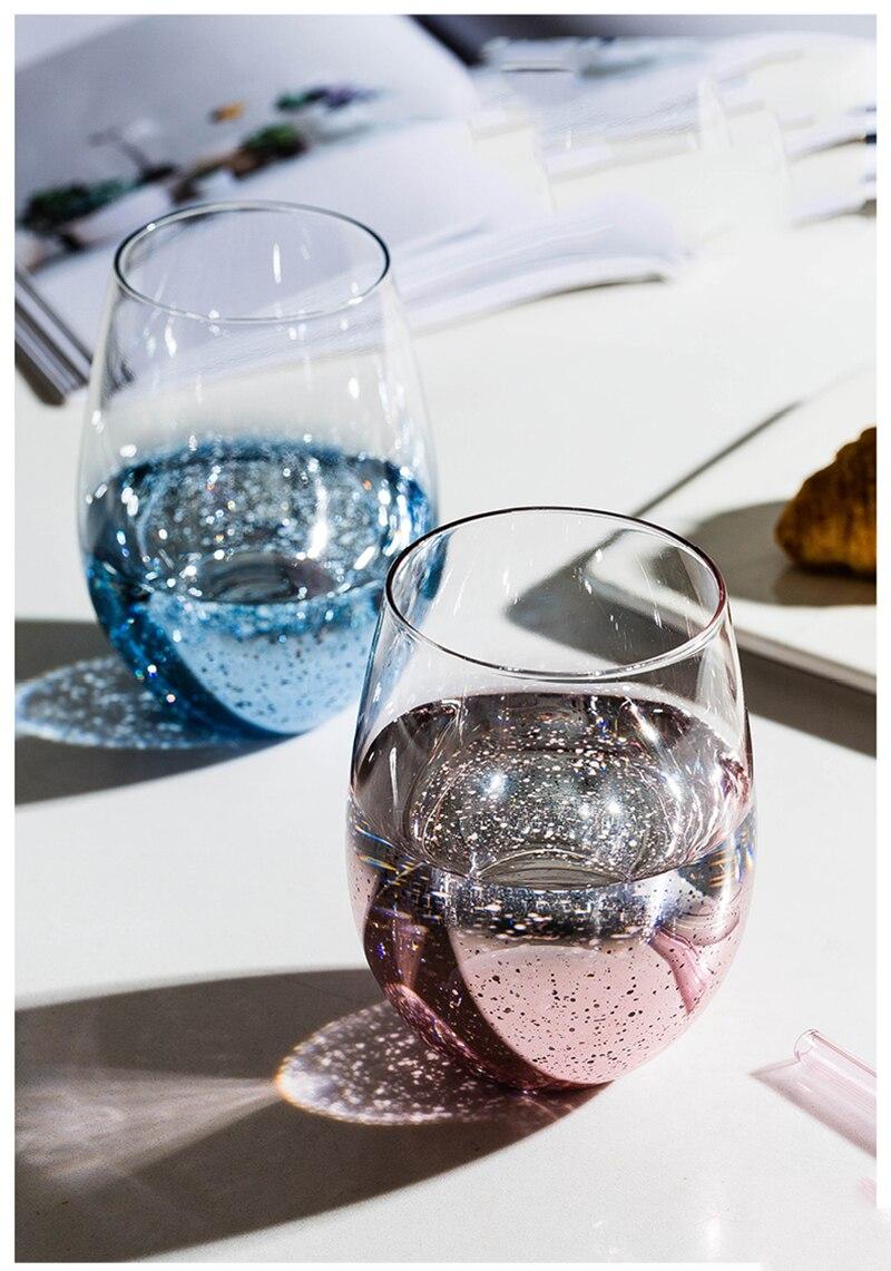 زجاجة ويسكي زجاجية قابلة لإعادة الاستخدام للكوكتيل ، زجاج للمشروبات ، للويسكي ، الشمبانيا ، Vaso Cerveza ، OO50BLB