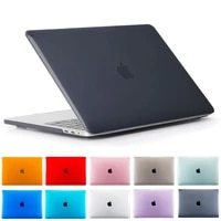 crystal hard laptop case for macbook air retina 11 12 inch with touch bar cover for macbook new pro 13 15 4 shell a2159 a1932 id