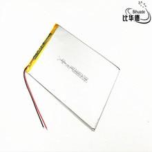 3.7 V, 5000mAH 30100150 (polymeer lithium-ion batterij) li-ion batterij voor tablet pc 8 inch 9 inch 10 inch