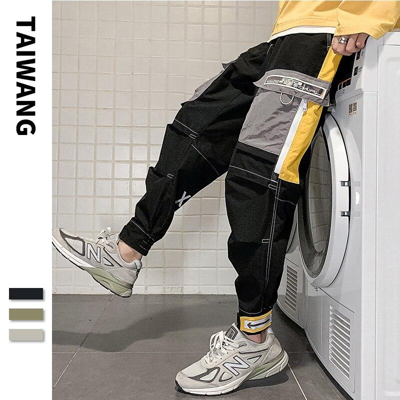 Мужские комбинезоны ICCLEK, новинка 2021, стильные мужские брюки и аксессуары, Мужская одежда, брюки-карго, мужские комбинезоны
