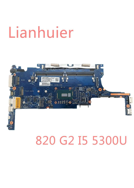 Nuevo para HP EliteBook 820 G2 portátil placa base 781856-001 6050A2635701 SR23X i5-5300U