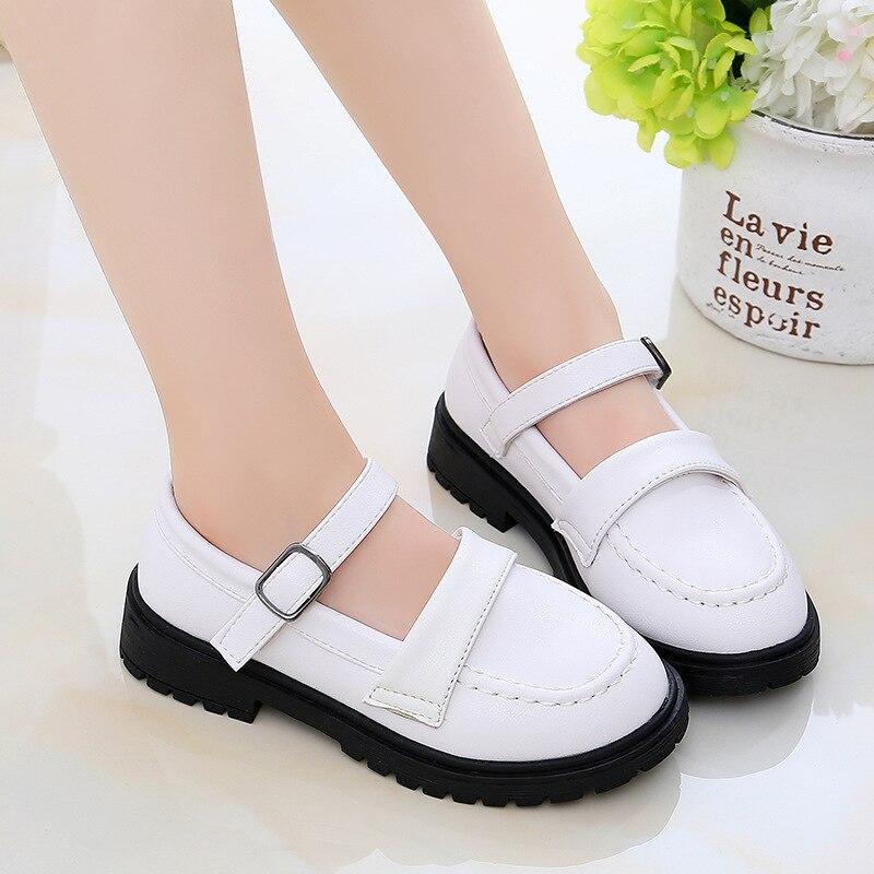 sapatos infantis de luxo 2020 meninas outono nova princesa sapatos estilo britanico