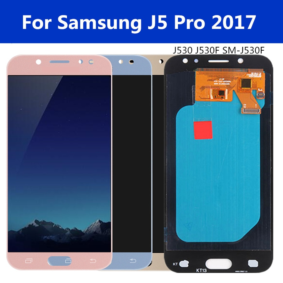 LCD OLED de 5,2 pulgadas para Samsung Galaxy J5 Pro 2017 J530 SM-J530F J530M LCD pantalla táctil digitalizador montaje para J5 2017 LCD