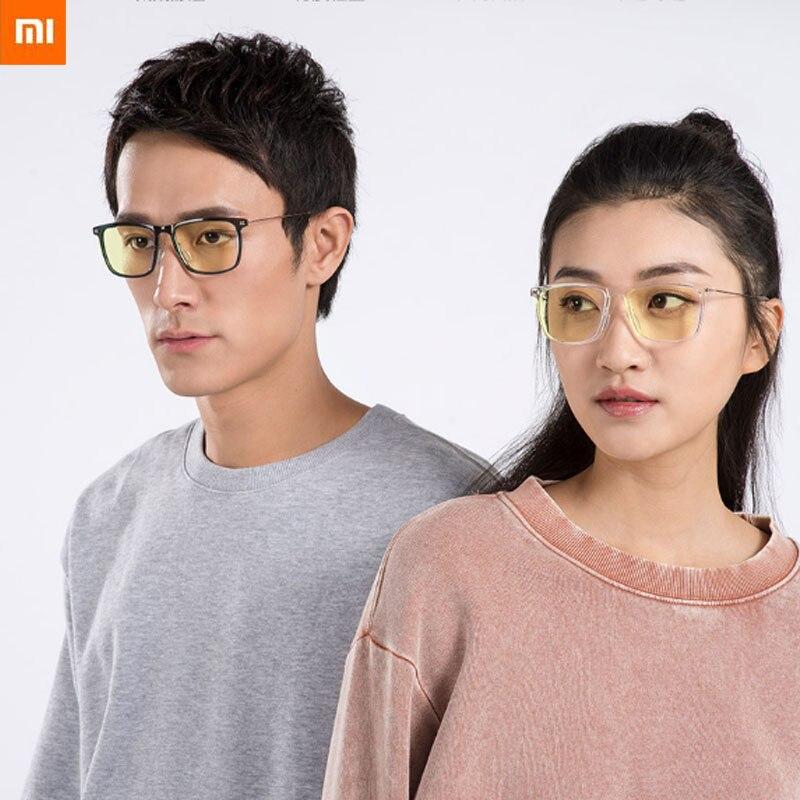 شاومي Mijia نظارات برو مكافحة الأزرق مربع المضادة للأشعة فوق البنفسجية الزجاج لعبة الكمبيوتر القيادة نظارات