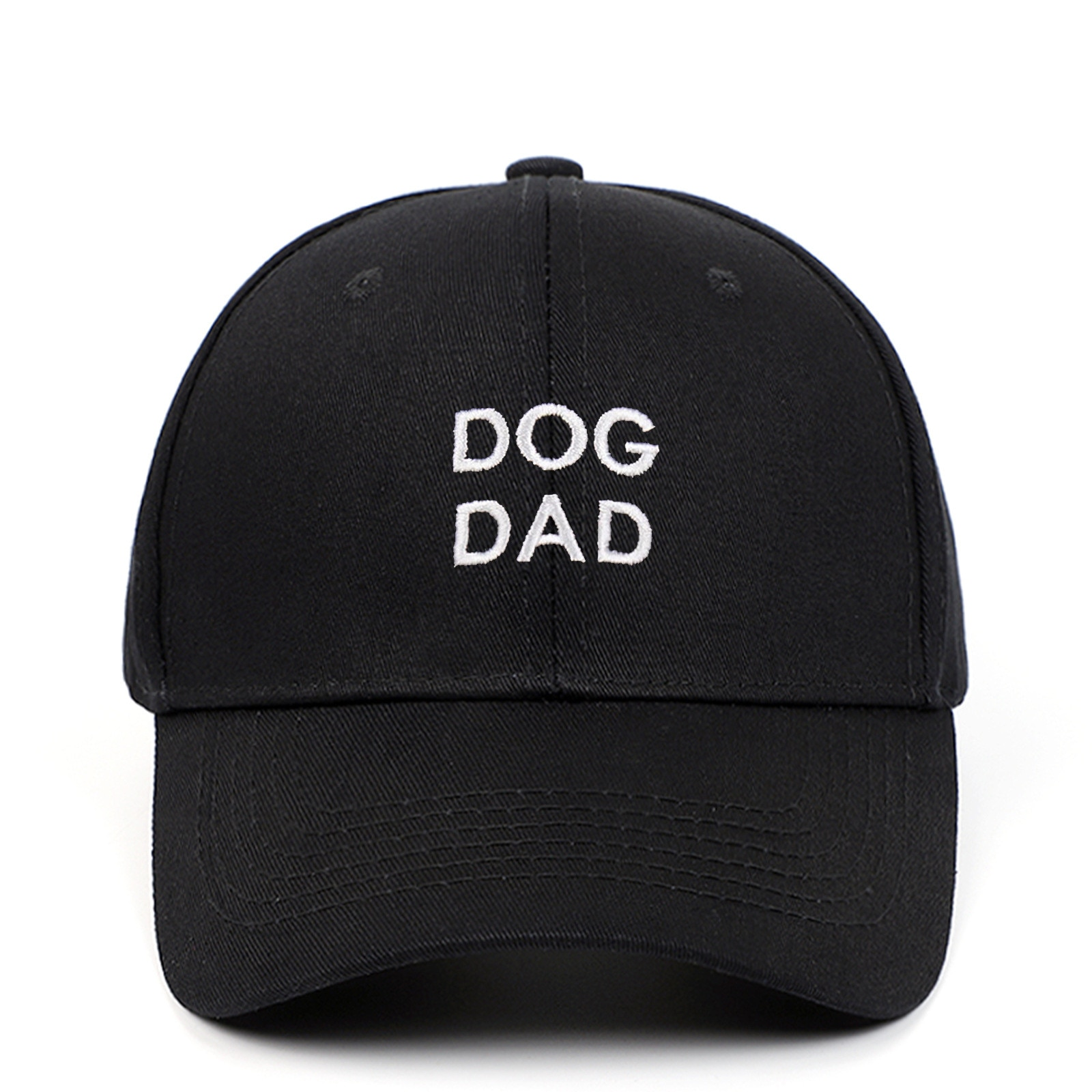 DOG DAD baseball cap hip hop embroidery men dad hat outdoor sports hiphop snapack hat cotton kpop cu