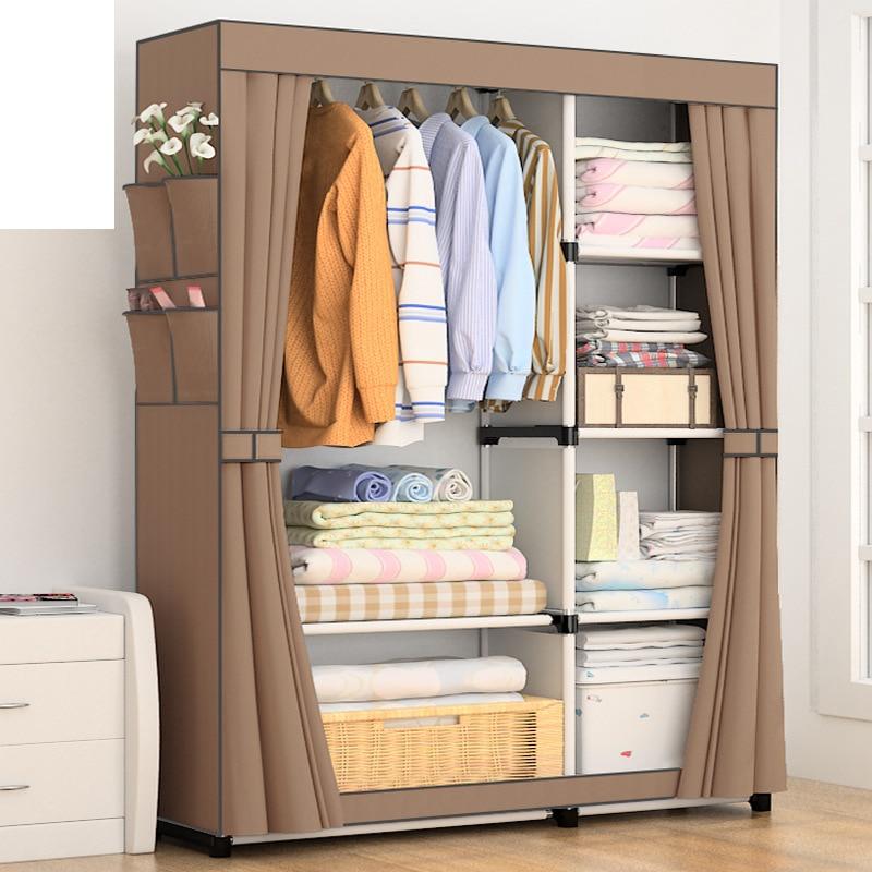 خزانة تخزين محمولة ، بسيطة وحديثة ، غير منسوجة ، قابلة للطي ، أثاث خزانة ، أثاث غرفة نوم