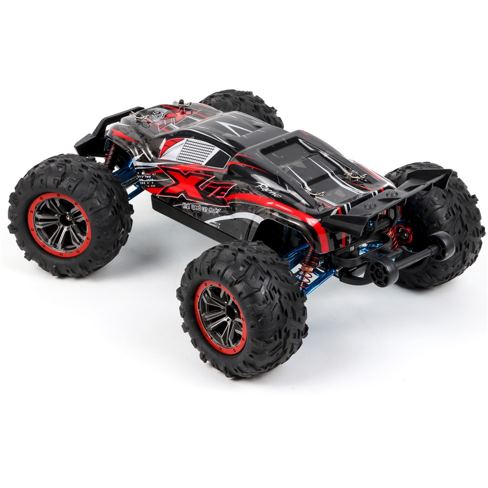 4WD F14A 1/10 2.4G Alloy Brushless RC Car Vehicle Models RTR High Speed 70km/h Off Road Machine for
