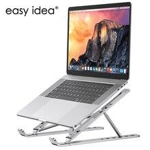 Soporte plegable de aluminio para portátil, Base ajustable para Macbook Pro, Accesorios de ordenador