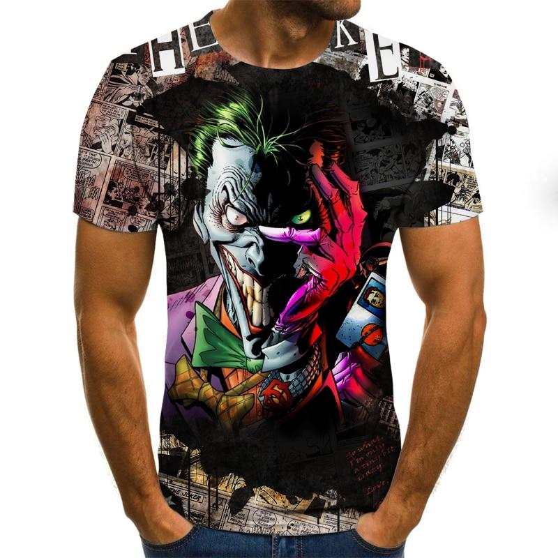 Camiseta con estampado 3D de juego de roles para hombre de camiseta...