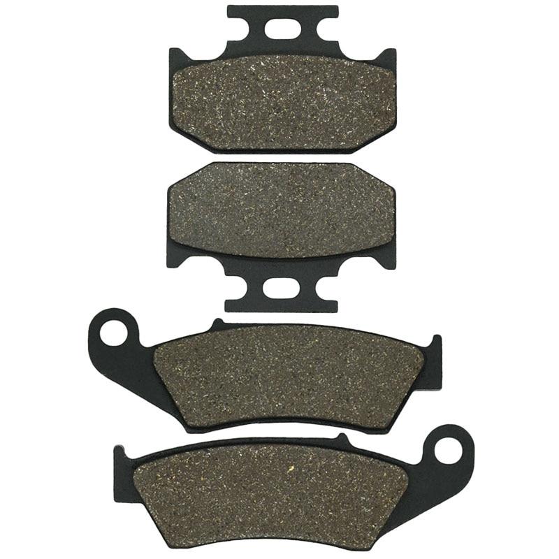 Motorcycle Front and Rear Brake Pads for KAWASAKI KX125 KX 125 1994 KDX 200 KDX200 1995-2006 KLX 650 KLX650 1993-1995