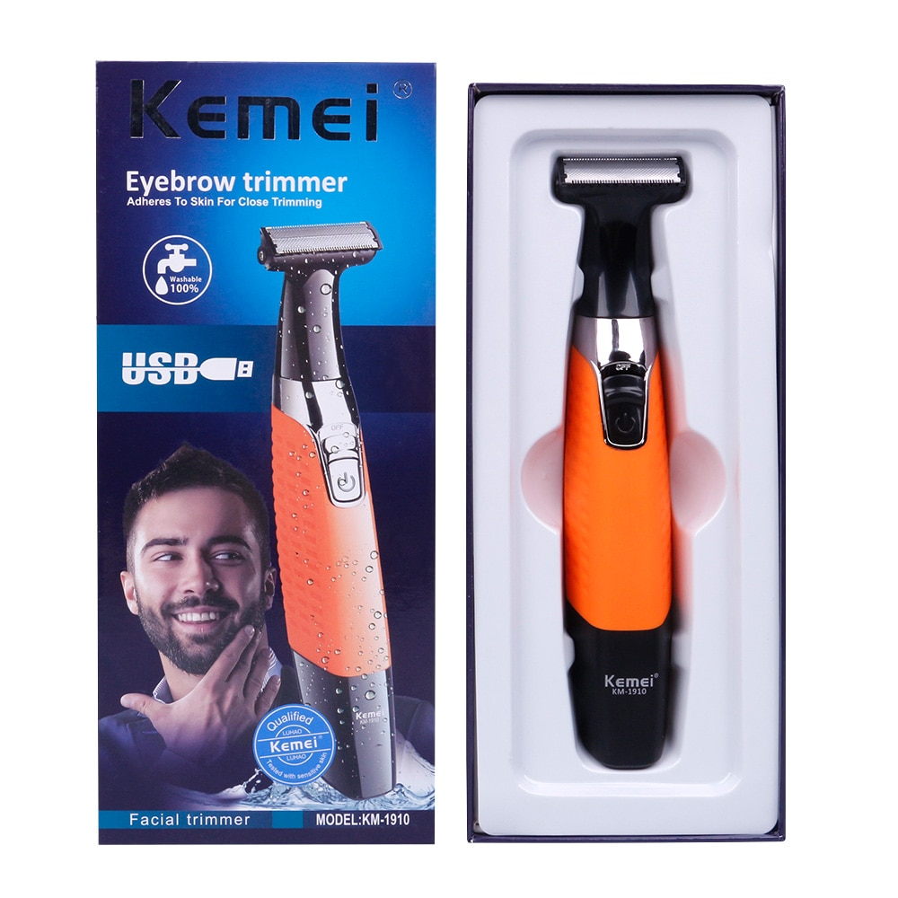 Electric Shaver USB Rechargeable Men's Shaver Body Wash Reciprocating Squeeze Tooth Blade enlarge