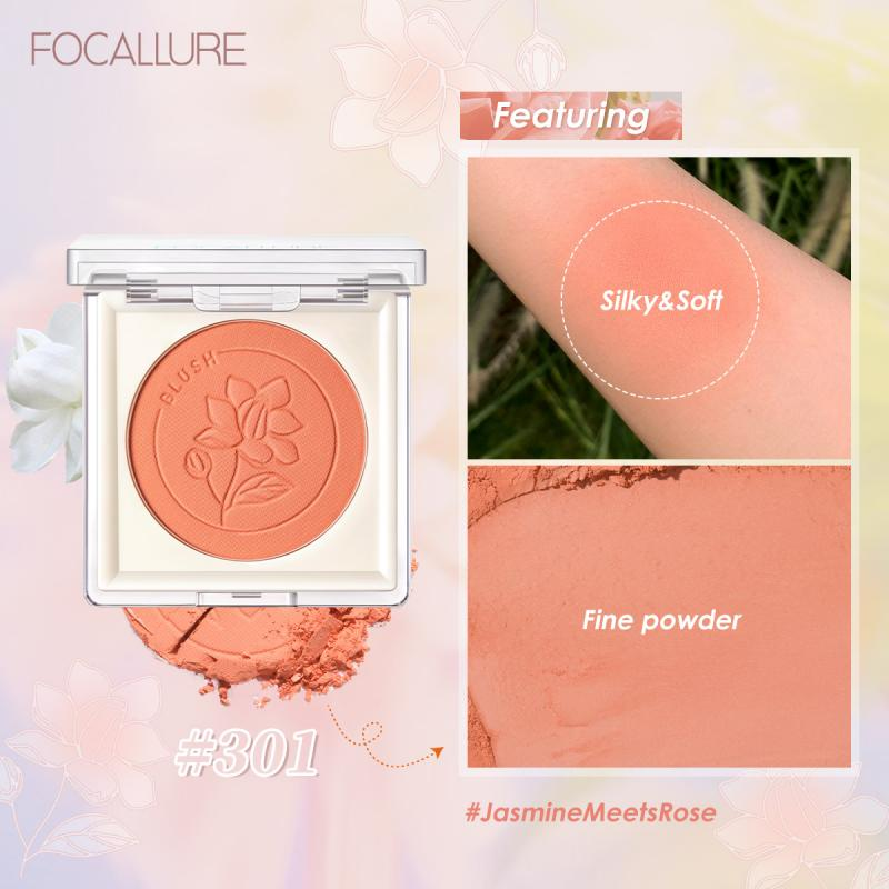 Фото - 11Colors Single Blush Palette Face Mineral Pigment Cheek Blusher Powder Waterproof Long Lasting Natural Makeup Cosmetic miss rose professional makeup blusher long lasting 6 colors minerals powder natural face base blush contouring make up palette