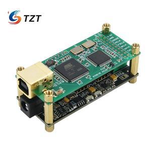 Image 2 - TZT для любовного интерфейса + ES9038Q2M аудио декодер плата аудио HiFi USB Звуковая карта Поддержка DSD256 PCM 384Khz