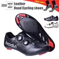 boodun road cycling shoes black sapatilha ciclismo ultralight self locking professional racing bike bicycle sneakers bicicleta