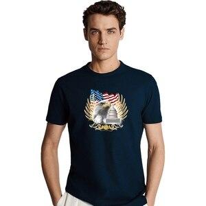 Mens new Fashion short sleeve shirt man Cotton T-Shirts mens round neck tops