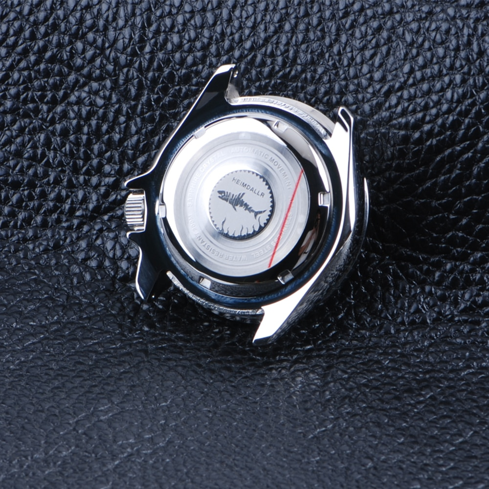 Diving Watches Case NH35 NH36 Movement Sapphire Glass 316L Stainless Steel Watch Case Ceramic Bezel 20Bar Water Resistance Case enlarge