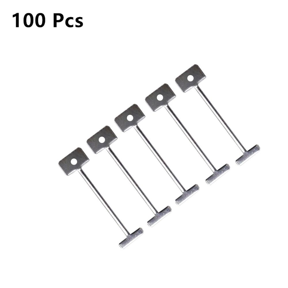 100 kusů systému pro vyrovnávání dlaždic pouze jehly 1,5 mm - Stavební nářadí - Fotografie 3
