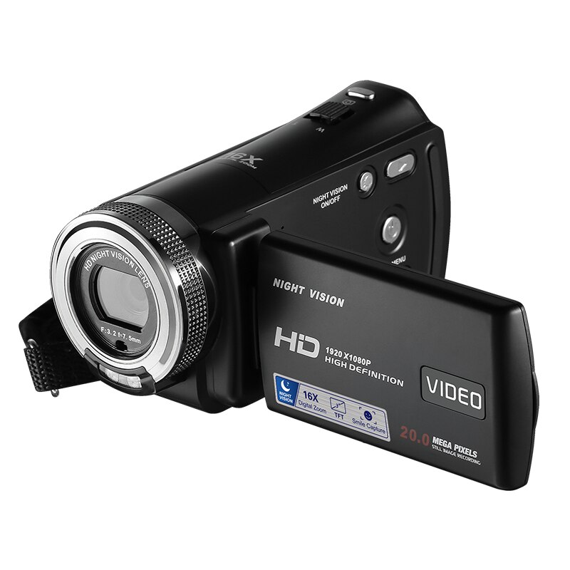 "¡Novedad! Cámara de vídeo Digital Winait beauty DIS max 24mp 16x zoom digital 3,0 ""1080P cámara digital profesional videocámara"