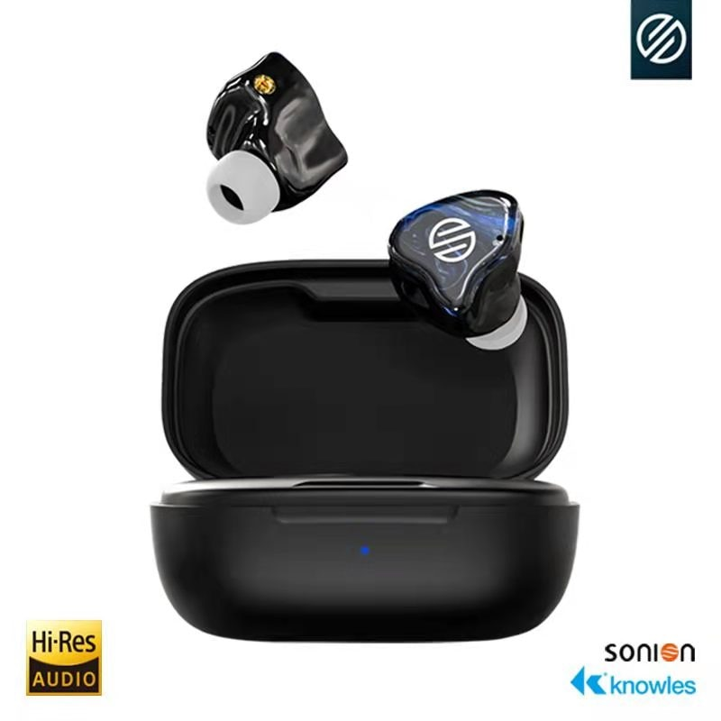 Get BGVP TWS Knowles Earphone Q2s Fone Bluetooth TWS Stereo Earbud Wireless Bluetooth 5.2 Earphones In-Ear Headsets For All Phone