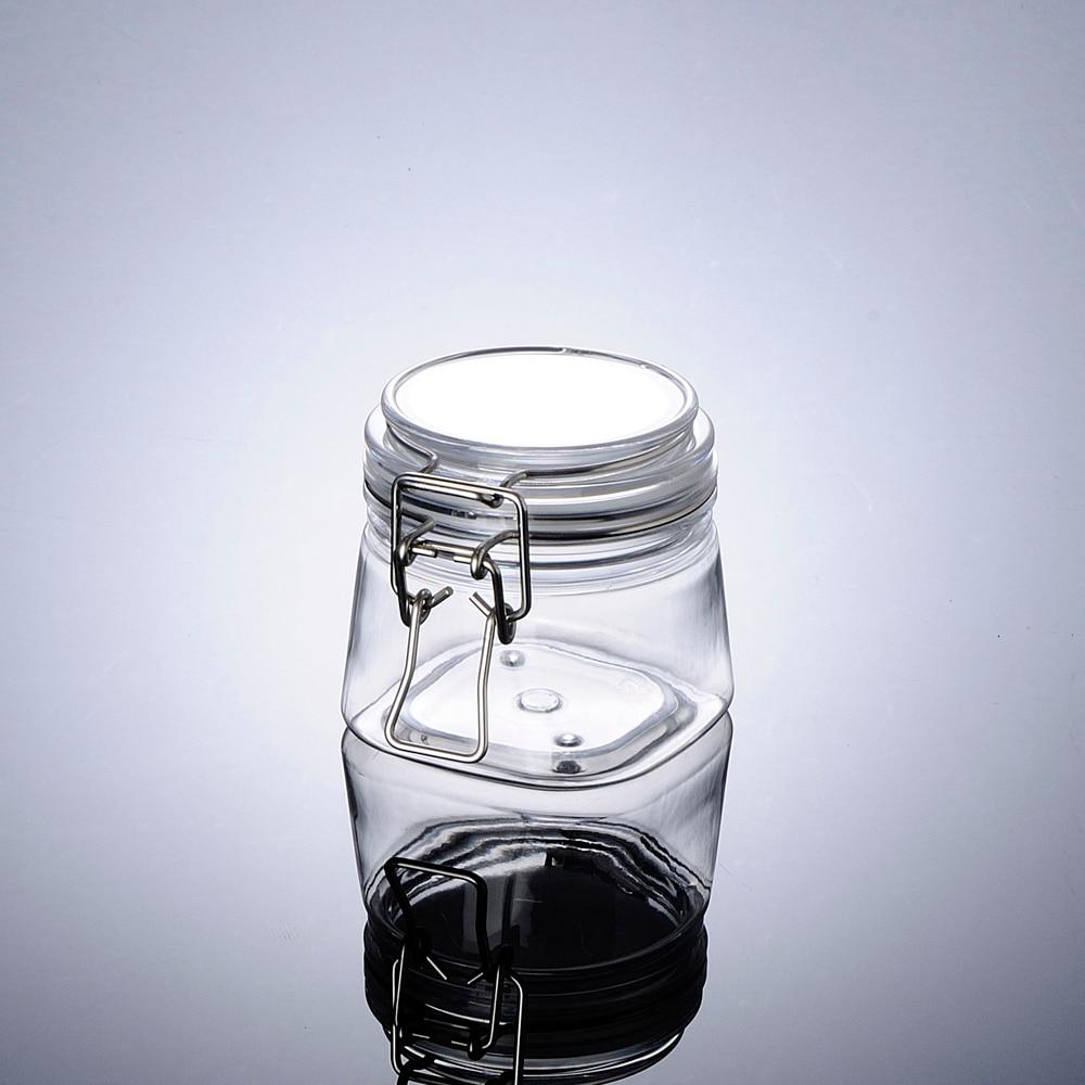 200G botella de plástico PET pot para máscara crema/gel/exfoliante facial/cuerpo/hidratante limpieza cuidado de la piel embalaje de cosméticos contenedor