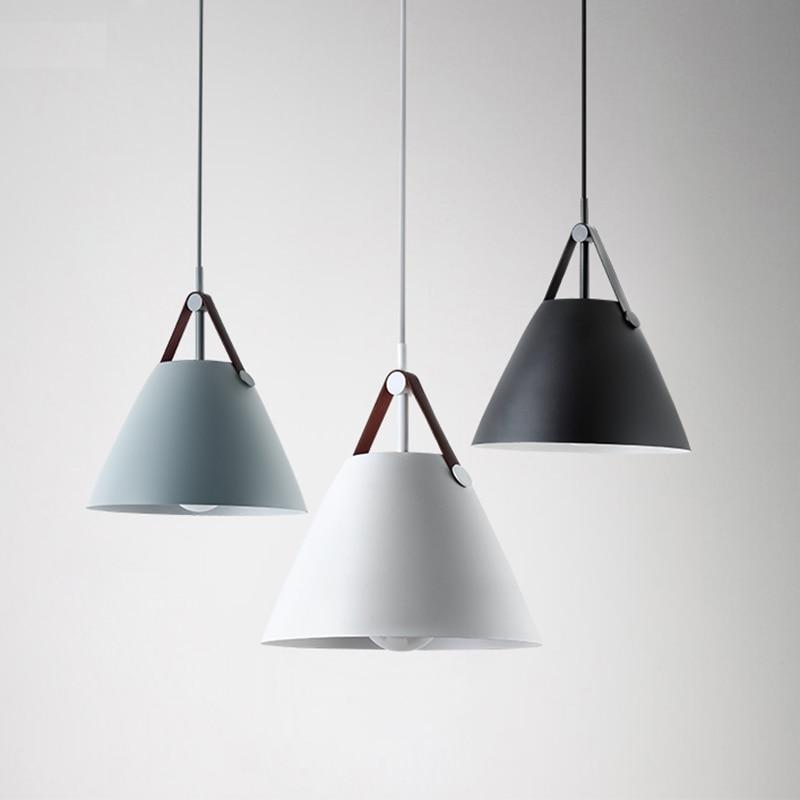 Nordic Ceiling Lights fixture lighting lampara de techo dining restaurant bar coffee aluminum ceiling lamp