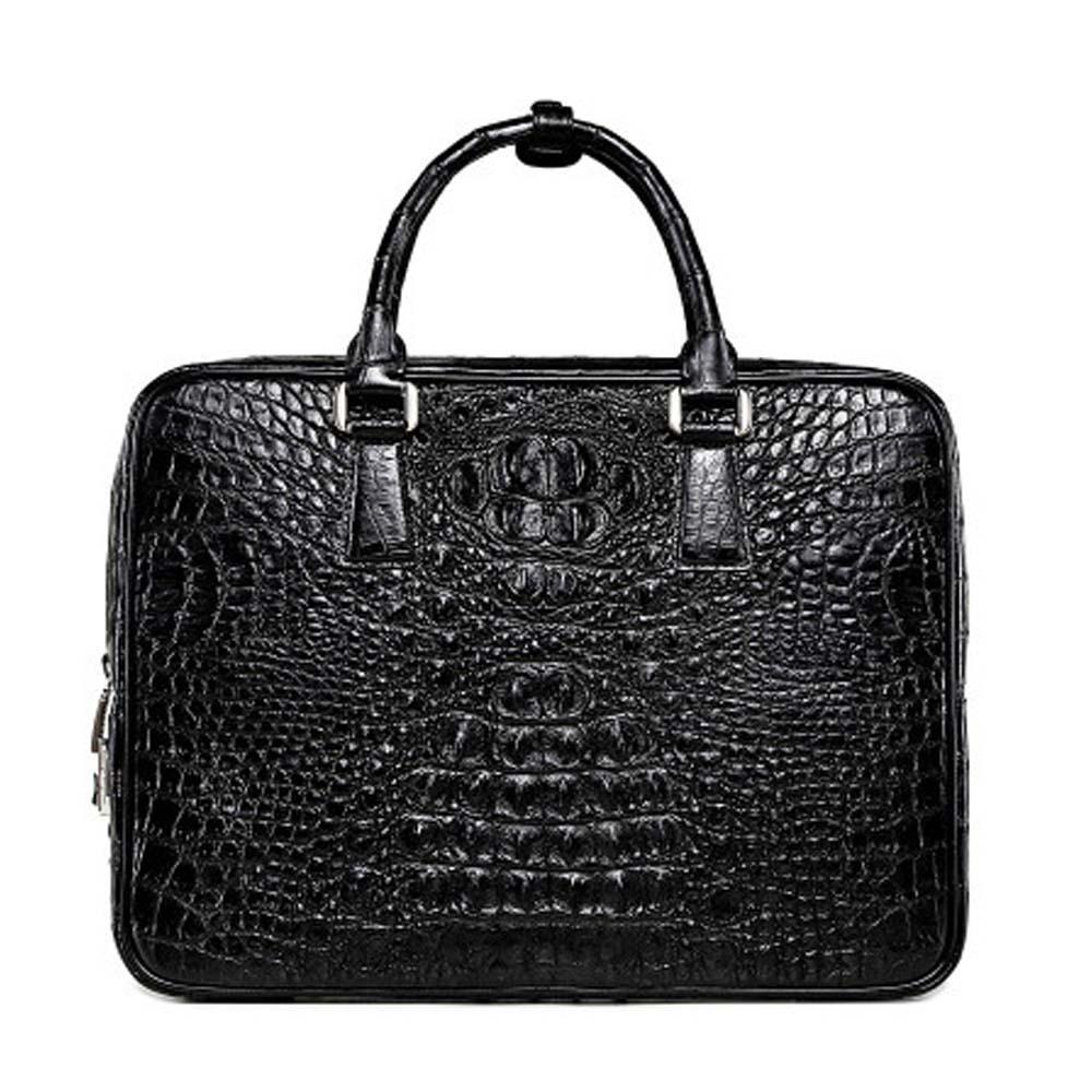 xingmengda men handbag  male  crocodile leather  new  business  leisure  men briefcase  Single shoulder bag men crocodile bag