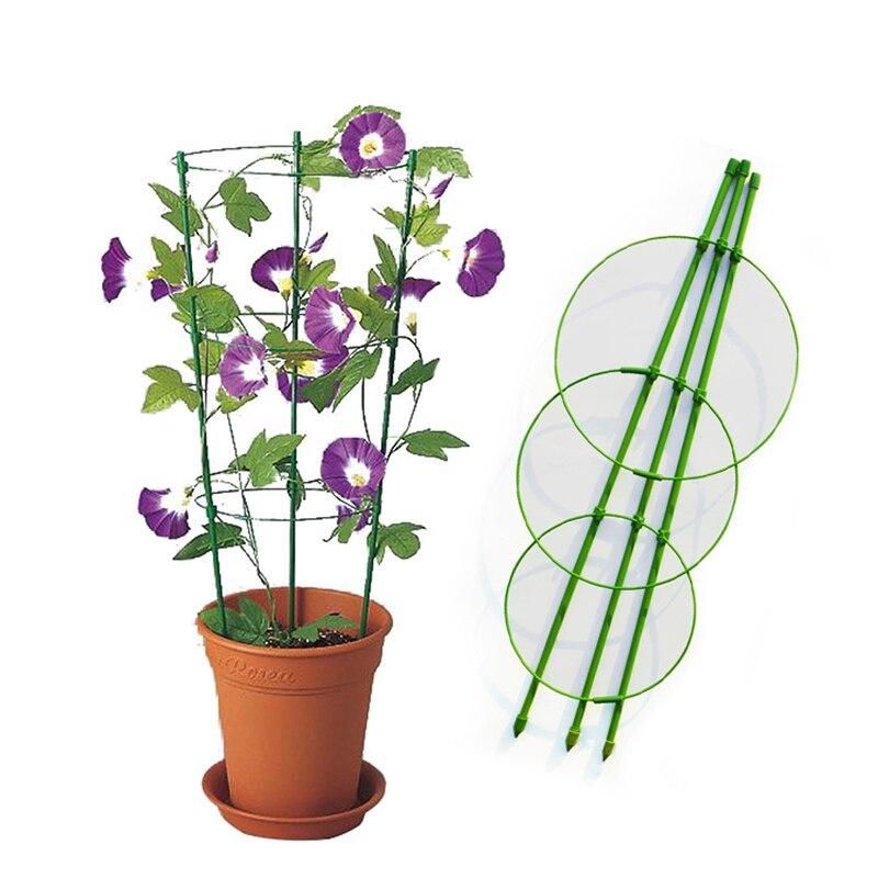 Blume Klettern Rack Garten Liefert Pflanzen Pflanzen 45cm Halterung Clematis Werkzeug Unterstützung Regal Hof Haus Hause