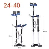 24 40 professional aluminum alloy plastering stilt ladder adjustable plastering stilts paint painter tool accessory stage props
