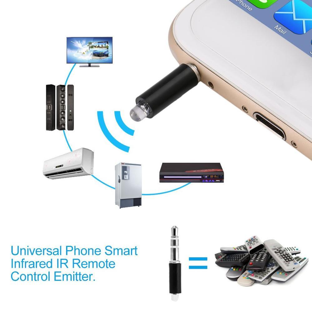 Универсальный мобильный телефон, умный инфракрасный ИК-пульт дистанционного управления, портативный мини-размер ТВ STB DVD Контроль за мобильный телефон-4