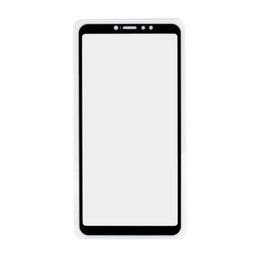 Vidrio protector para Xiaomi Mi Max 3 con marco 9H pegamento total sin paquete