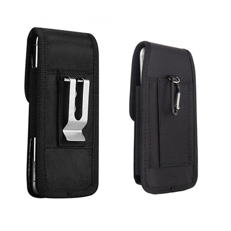 Mobile Phone Bag 5.2-6.3 inch Outdoor Phone Waist Bag for iPhone Samsung Xiaomi Huawei Hook Phone Pouch Sport Belt Waist Bag