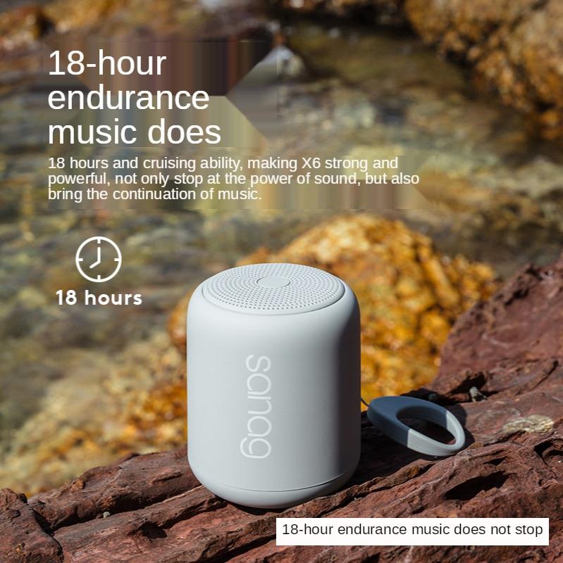 Mini Speaker Hands-Free FM Radio Speaker Multi-Function Stereo Portable Bluetooth Subwoofer Outdoor Waterproof Subwoofer enlarge