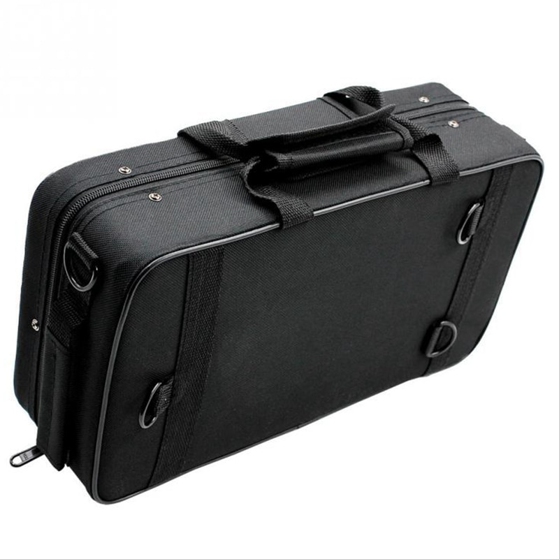 Black Foam Padded Thicken Oxford Cloth Sotrage Bag Clarinet Box Case With Handle Strap Clarinet Protection Accessories enlarge