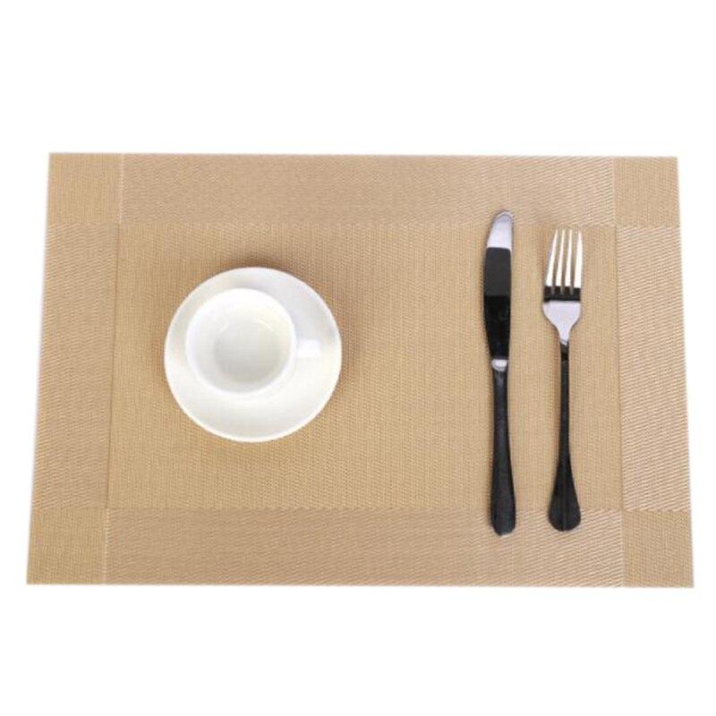 Lixf 6 pçs placemat moda pvc mesa de jantar esteira placa almofadas tigela almofada coasters mesa de pano esteiras mesa tigela esteiras casa decoração ir