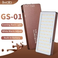 high quality photography led light portable 3000 5500k dimmable video light 94 led beads panel adjustable phone lighting