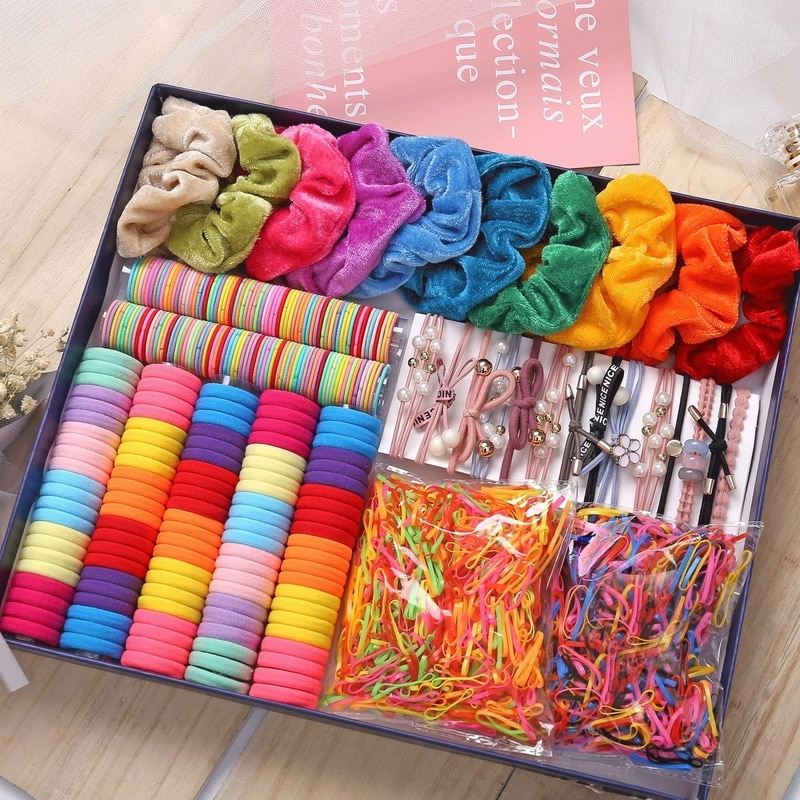 1000pcs-colors-girls-baby-hair-ring-rope-headwear-scrunchies-elastic-hair-band-kids-hair-accessories-for-women-fashion-hair-tie