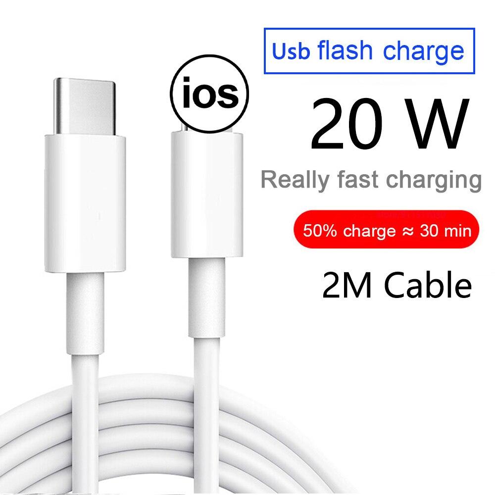 Cable cargador USB C de 2M, Cable de datos de carga rápida...