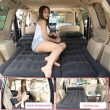 Car Inflatable Bed Air Mattress Universal SUV Car Travel Sleeping Pad Outdoor Camping Mat 2019 New