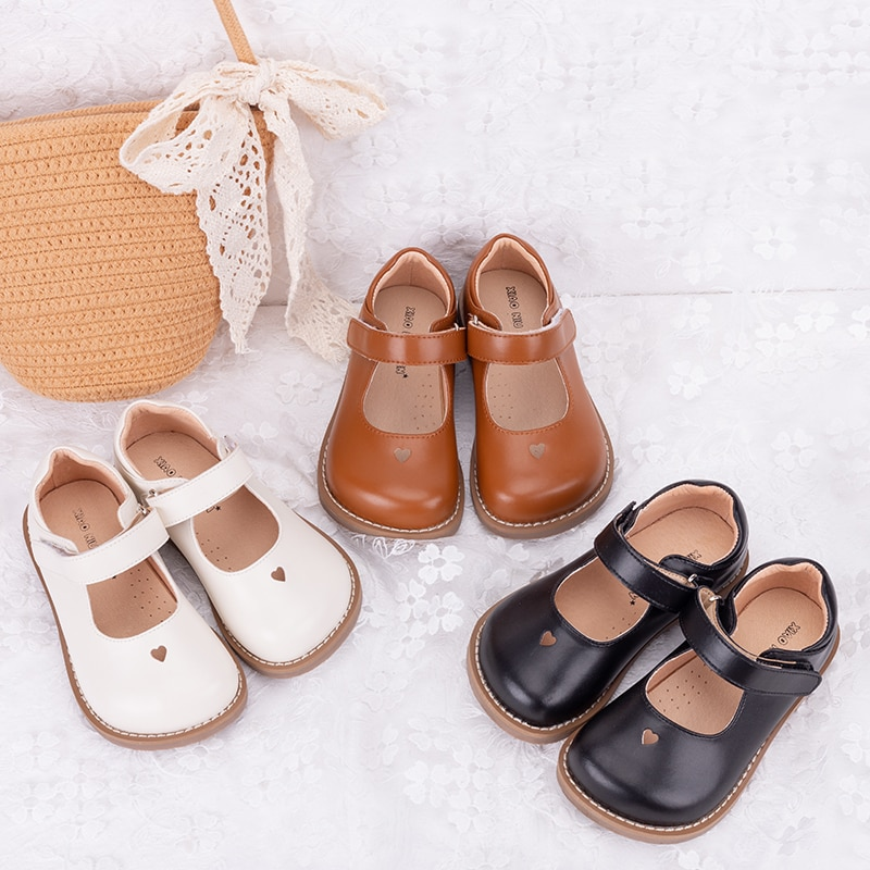 Latest Summer Kids Shoes 2021 Fashion Leathers Sweet Children Sandals For Girls Toddler Baby Breathable Cut Out Bow Shoes D12304