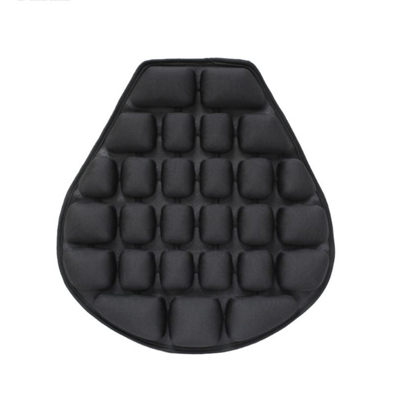 Motorcycle Seat Cushion Pressure Release Comfortable Inflatable Air Pad Cover G99D